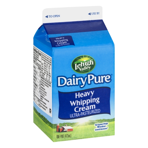 T.G. Lee Dairy Pure Heavy Whipping Cream Ultra-Pasteurized