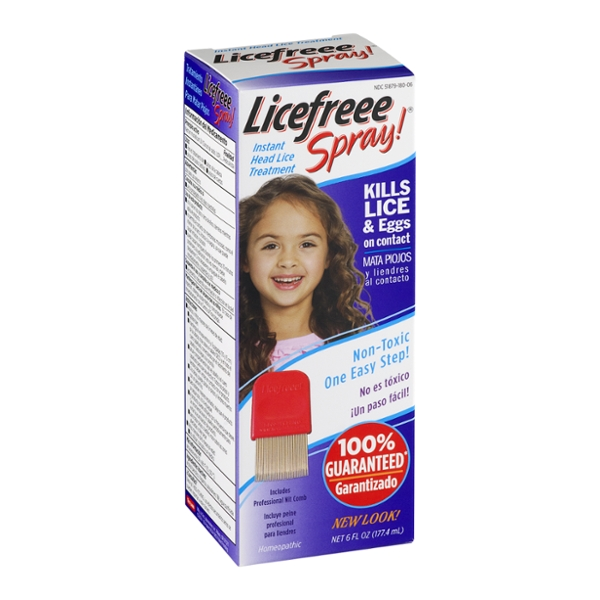 Licefreee Spray! Instant Head Lice Treatment