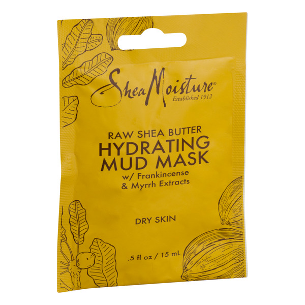 SheaMoisture Raw Shea Butter Hydrating Mud Mask w/ Frankincense & Myrrh Extracts