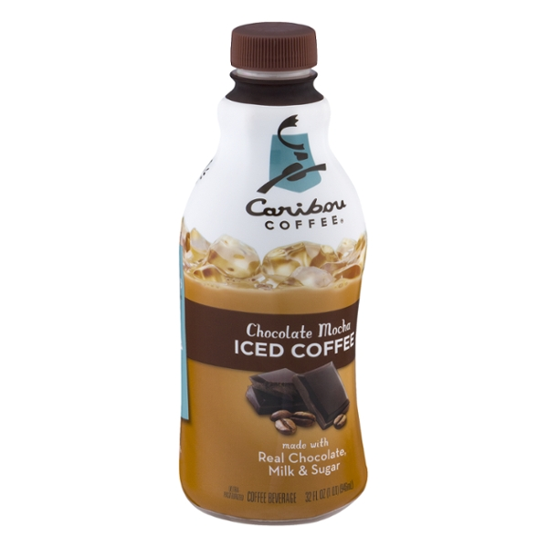 Caribou Coffee Iced Coffee Chocolate Mocha