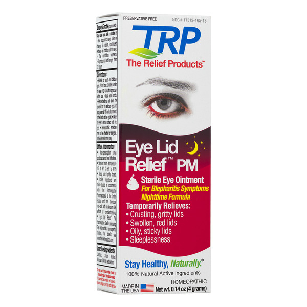 TRP Sterile Eye Ointment Eye Lid Relief PM