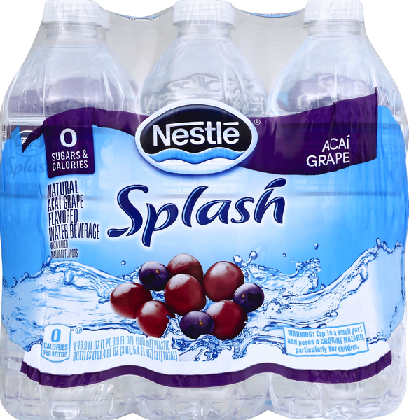 Nestle Water Beverage, Acai Grape