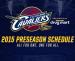 Cavaliers 2015 Pre-Season Tickets