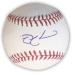 Indians - Nick Swisher Autographed Baseball