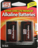 DDM Alkaline Battery 9-Volt Two Pack