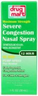 DDM Maximum Strength Severe Congestion Nasal Spray