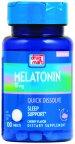 DDM Melatonin Quick Dissolving Tablets 100ct