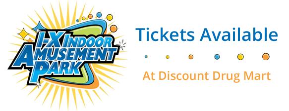 I-X Indoor Amusement Park « Discount Drug Mart